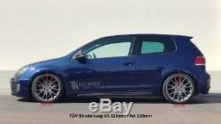 Ta Technix Combinés Filetés Deep Version +'Accouplement Audi A3 8P, VW Golf 5