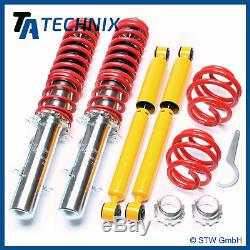 Ta Technix Combinés Filetés VW Golf 4 4-motion / Tout Terrain 1.8T V5 V6 R32