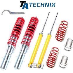 Ta-Technix Premium Combinés Filetés VW Golf 4 / Bora / Audi A3 / Seat Leon