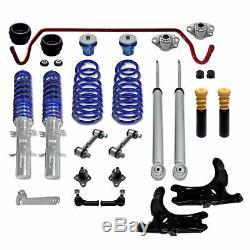 VW Golf 4 Jom Blueline Combinés Filetés Stable Barres D'Accouplement Palier de