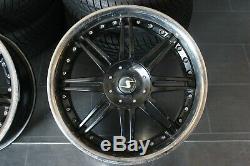 VW Golf Beetle Seat Audi TT Schmidt JANTES en Alliage 8.5j x 19 pouces 5X100