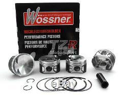 Wössner Pistons Forgés VW Golf 7 Gti & Audi S3 8p 8v 2,0 L 16v TFSI TSI Ea888